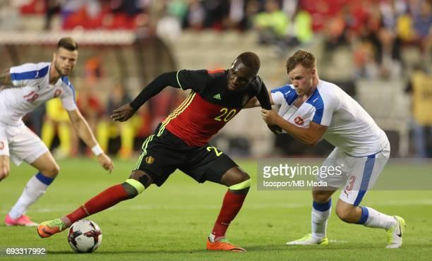 20170605 Brussels Belgium / International friendly game Belgium v Czech Republic /'nChristian BENTEKE Tomas KALAS'nPicture by Vincent Van Doornick /...