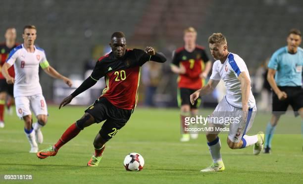 20170605 Brussels Belgium / International friendly game Belgium v Czech Republic /'nChristian BENTEKE Jakub BRABEC'nPicture by Vincent Van Doornick /...
