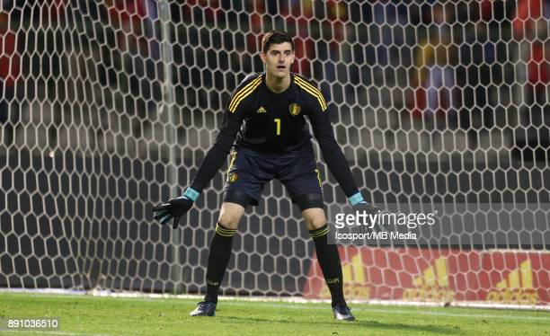 20171110 Brussels Belgium / International Friendly Game Belgium v Mexico / 'nThibaut COURTOIS'nPicture by Vincent Van Doornick / Isosport