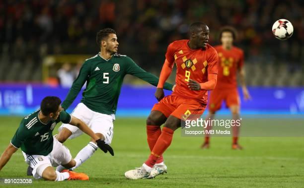 20171110 Brussels Belgium / International Friendly Game Belgium v Mexico / 'nDiego REYES Romelu LUKAKU'nPicture by Vincent Van Doornick / Isosport