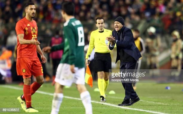 20171110 Brussels Belgium / International Friendly Game Belgium v Mexico / 'nJuan Carlos OSORIO'nPicture by Vincent Van Doornick / Isosport