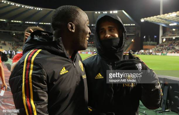 20171110 Brussels Belgium / International Friendly Game Belgium v Mexico / 'nRomelu LUKAKU Adnan JANUZAJ'nPicture by Vincent Van Doornick / Isosport