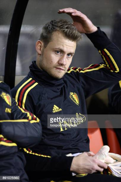 20171110 Brussels Belgium / International Friendly Game Belgium v Mexico / 'nSimon MIGNOLET'nPicture by Vincent Van Doornick / Isosport