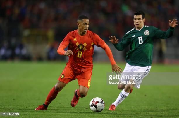 20171110 Brussels Belgium / International Friendly Game Belgium v Mexico / 'nYouri TIELEMANS Hirving LOZANO'nPicture by Vincent Van Doornick /...