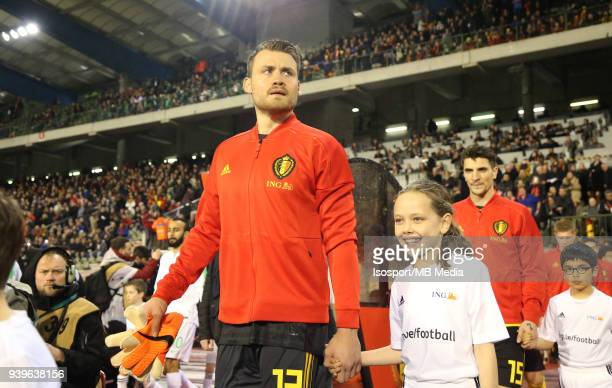 20180327 Brussels Belgium / International Friendly Game Belgium v Saudi Arabia / 'nSimon MIGNOLET'nPicture by Vincent Van Doornick / Isosport