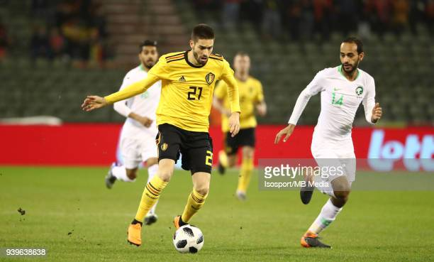 20180327 Brussels Belgium / International Friendly Game Belgium v Saudi Arabia / 'nYannick CARRASCO'nPicture by Vincent Van Doornick / Isosport