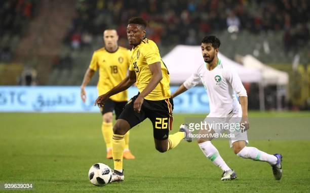 20180327 Brussels Belgium / International Friendly Game Belgium v Saudi Arabia / nAnthony LIMBOMBEnPicture by Vincent Van Doornick / Isosport
