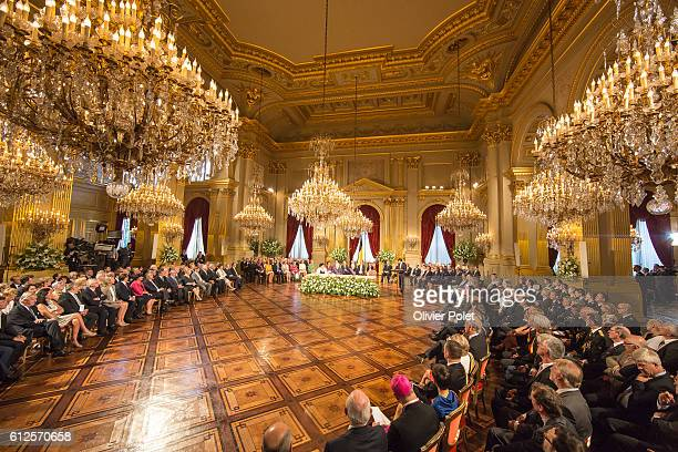 Brussels Belgium July 21 2013 Abdication of King Albert II at the Royal Palace of Brussels