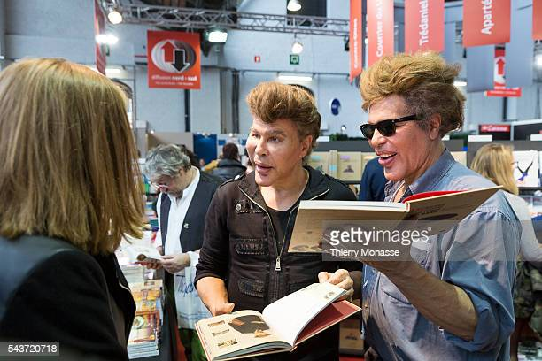 Brussels Belgium March 1 2015 Bogdanov affair at the Brussels book fair at Tour Taxis