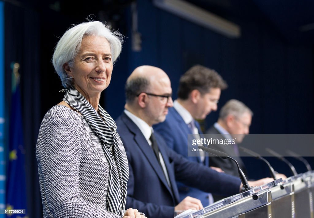 Christine Lagarde. : News Photo