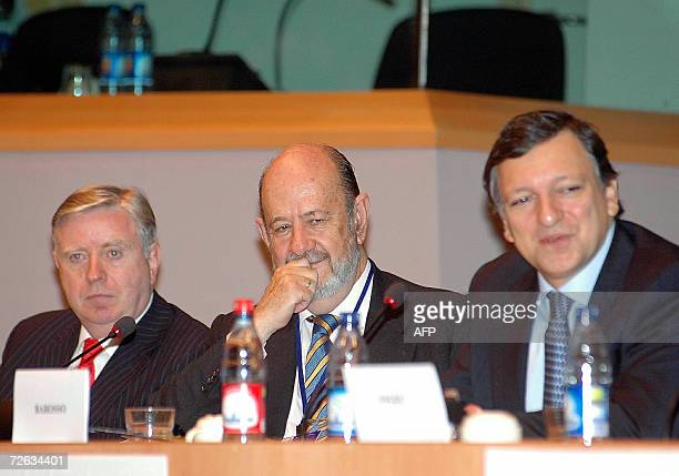 President of the European Union Jose Manuel Barroso Former President of the European Parliament Gil Robles and Former President of the European...