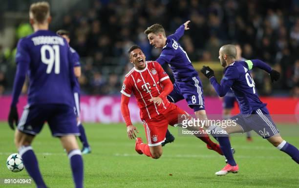 20171122 Brussels Belgium / Rsc Anderlecht v Bayern Munchen / 'nCorentin TOLISSO Pieter GERKENS'nFootball Uefa Champions League 2017 2018 Group stage...