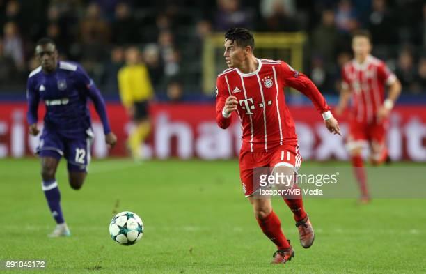 20171122 Brussels Belgium / Rsc Anderlecht v Bayern Munchen / 'nJAMES RODRIGUEZ'nFootball Uefa Champions League 2017 2018 Group stage Matchday 5...