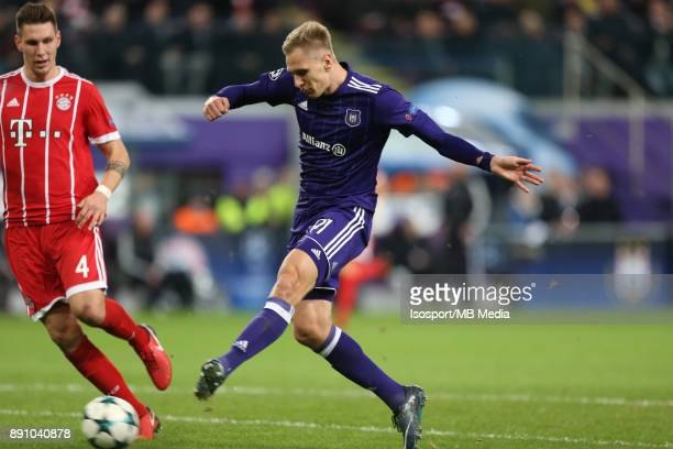 20171122 Brussels Belgium / Rsc Anderlecht v Bayern Munchen / 'nLukasz TEODORCZYK'nFootball Uefa Champions League 2017 2018 Group stage Matchday 5...