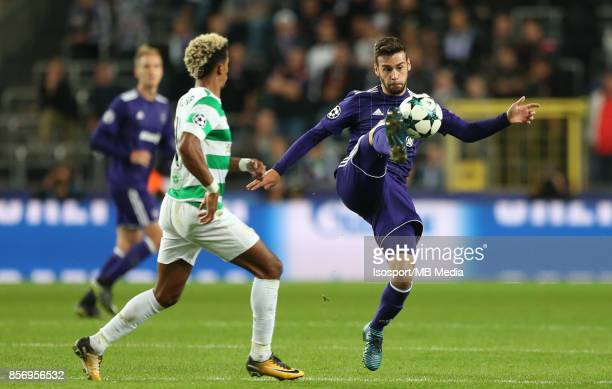 20170927 Brussels Belgium / Rsc Anderlecht v Celtic Fc / 'nMassimo BRUNO'nFootball Uefa Champions League 2017 2018 Group stage Matchday 2 Group B /...