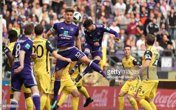 20180415 Brussels Belgium / Rsc Anderlecht v Club Brugge / 'nJosue SA'nFootball Jupiler Pro League 2017 2018 PlayOff 1 Matchday 3 / 'nPicture by...