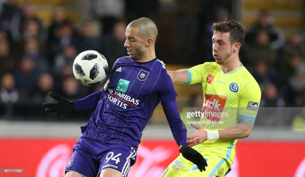 Rsc Anderlecht v Kaa Gent : News Photo