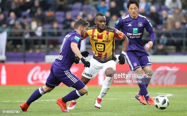 20180204 Brussels Belgium / Rsc Anderlecht v Kv Mechelen / 'nAlexandru CHIPCIU Yacouba SYLLA'nFootball Jupiler Pro League 2017 2018 Matchday 25 /...