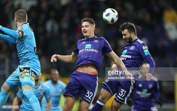 20171210 Brussels Belgium / Rsc Anderlecht v Sporting Charleroi / 'nLeander DENDONCKER'nFootball Jupiler Pro League 2017 2018 Matchday 18 / 'nPicture...