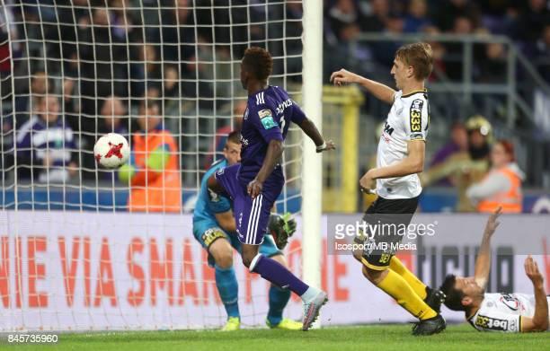 20170908 Brussels Belgium / Rsc Anderlecht v Sporting Lokeren / 'nHenry ONYEKURU Goal'nFootball Jupiler Pro League 2017 2018 Matchday 6 / 'nPicture...