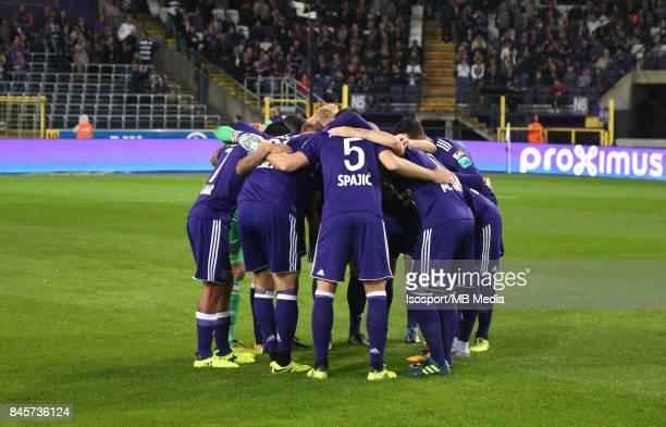 20170908 Brussels Belgium / Rsc Anderlecht v Sporting Lokeren / 'n'nFootball Jupiler Pro League 2017 2018 Matchday 6 / 'nPicture by Vincent Van...