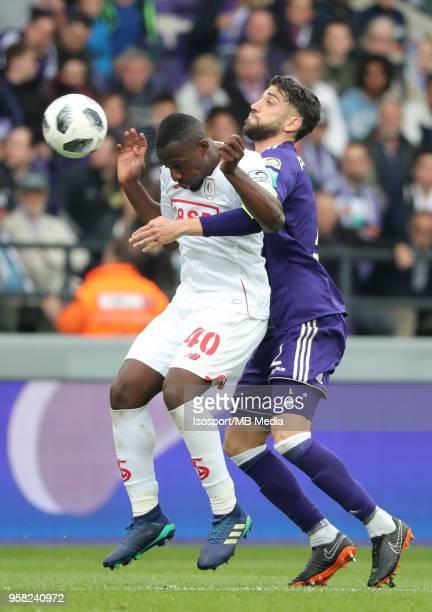 20180510 Brussels Belgium / Rsc Anderlecht v Standard de Liege / 'nPaulJose MPOKU Josue SA'nFootball Jupiler Pro League 2017 2018 PlayOff 1 Matchday...