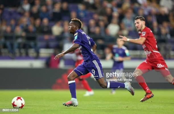 20171025 Brussels Belgium / Rsc Anderlecht v Zulte Waregem / 'nHenry ONYEKURU'nFootball Jupiler Pro League 2017 2018 Matchday 12 / 'nPicture by...