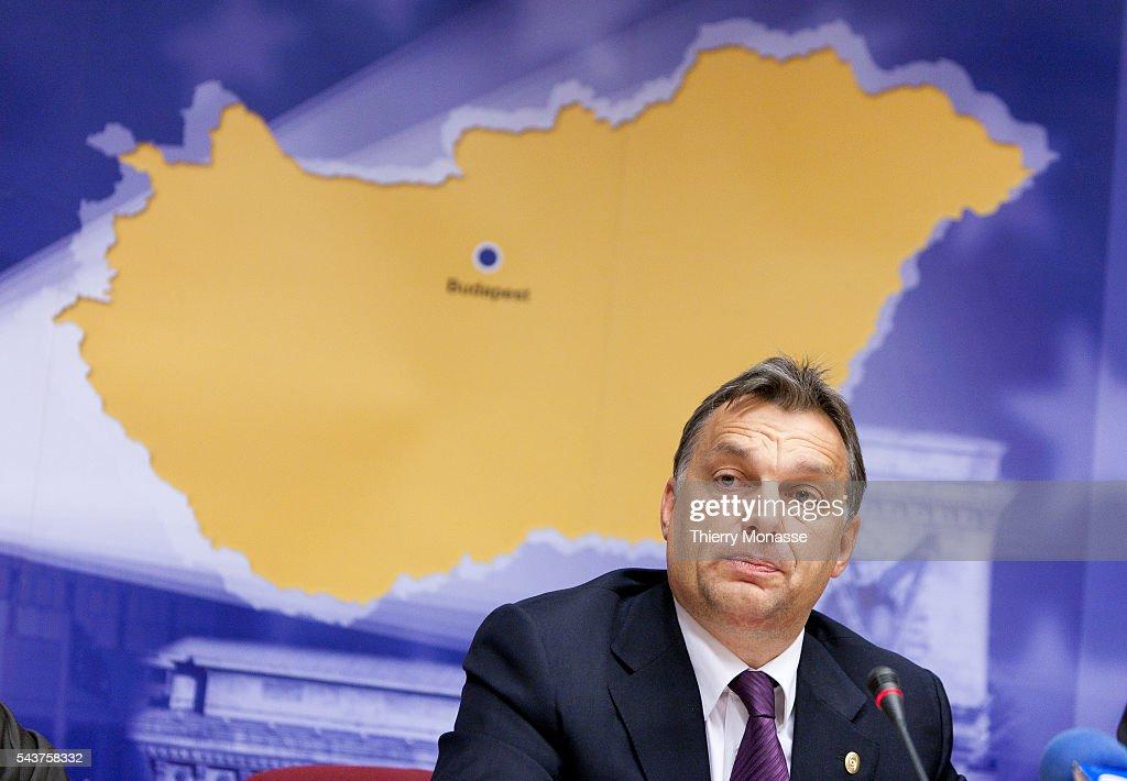 Belgium - European Union Leaders summit : News Photo