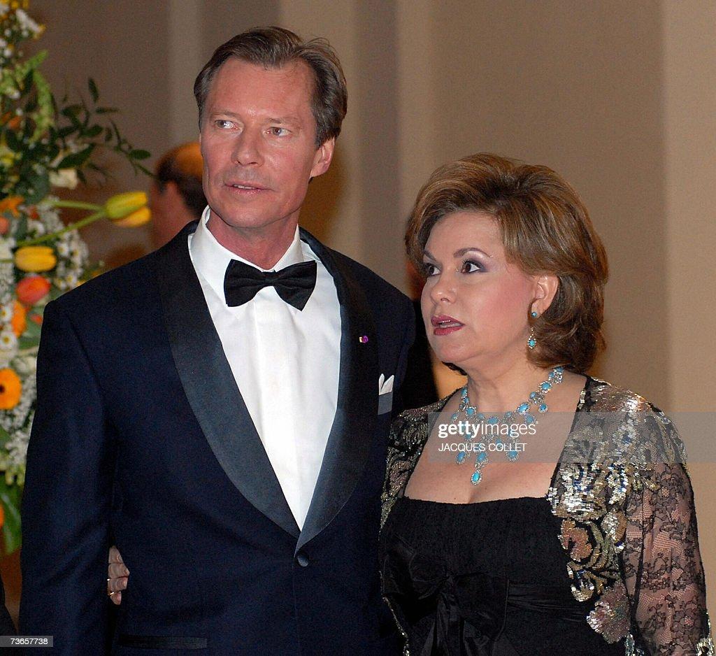 The Grand Duke de Henri of Luxembourg, a... : News Photo