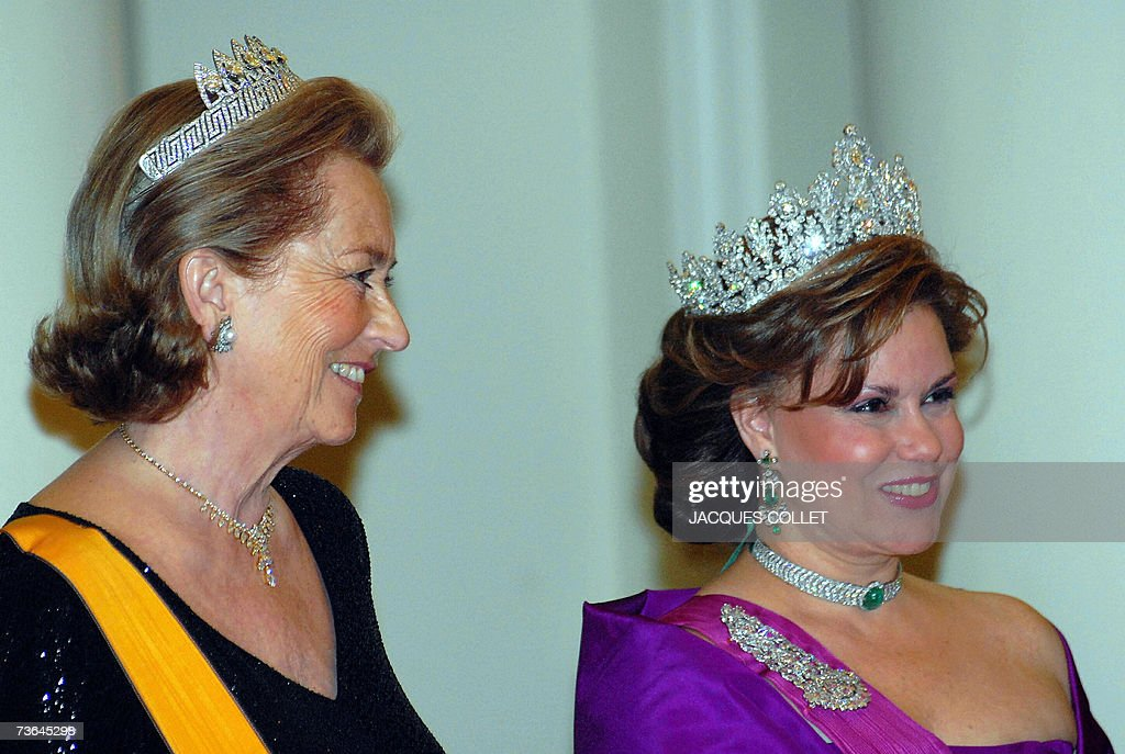 The Grande Duchess of Luxembourg Maria T... : News Photo