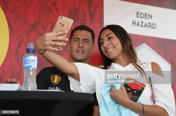 20170603 Brussels Belgium / Training and Family Day Red Devils /nSigning sessionnEden HAZARDnPicture Vincent Van Doornick / Isosport