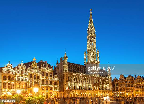 brussels grand place - brussels capital region stock pictures, royalty-free photos & images
