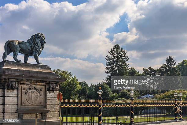 brussels, royal castle of laeken - belgium - royal palace brussels stock pictures, royalty-free photos & images