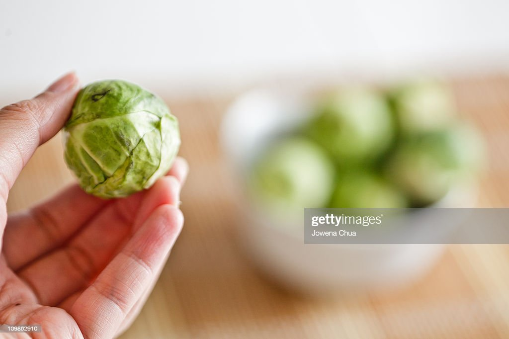 Brussels Sprout : Stock Photo