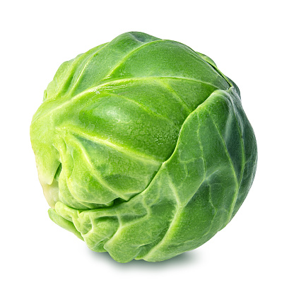 Brussels sprouts isolated on white 647968876
