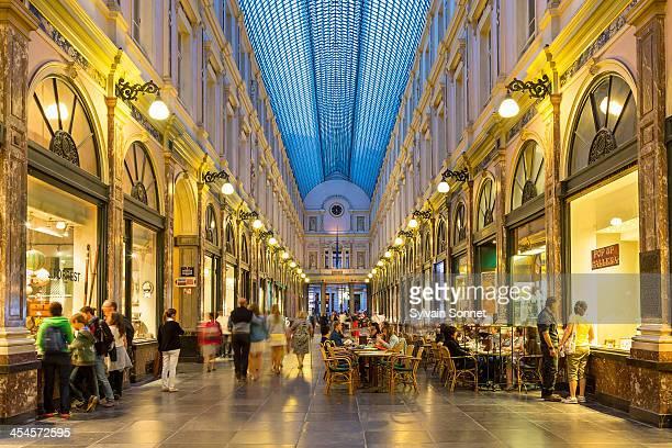 Brussels, St. Hubert Royal galleries