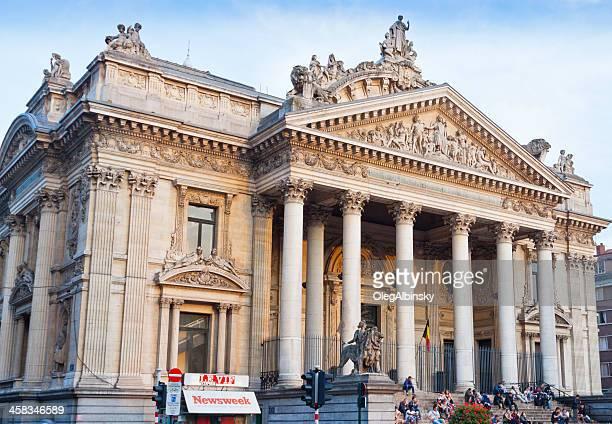 Brussels Stock Exchange.