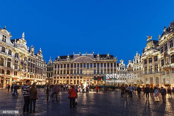 La Grand-Place de Bruxelles, Belgique