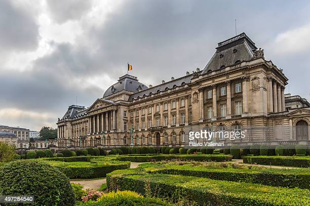brussels, the royal palace - bergium - palace stock pictures, royalty-free photos & images
