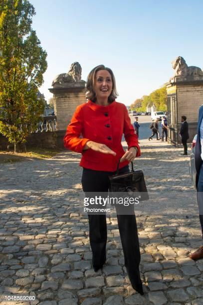 BrusselsOctober/ 10/ 2018 Brussels 101018 Remise des Prix Terre d'Avenir 20172018 par la princesse Claire Uitreiking van de Prijs Focus Aarde...