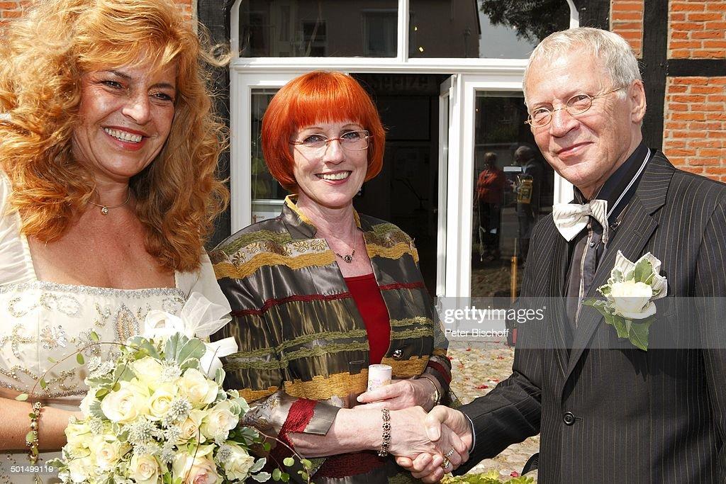 Brautigam Gernot Endemann Braut Sabine Endemann Links Geb