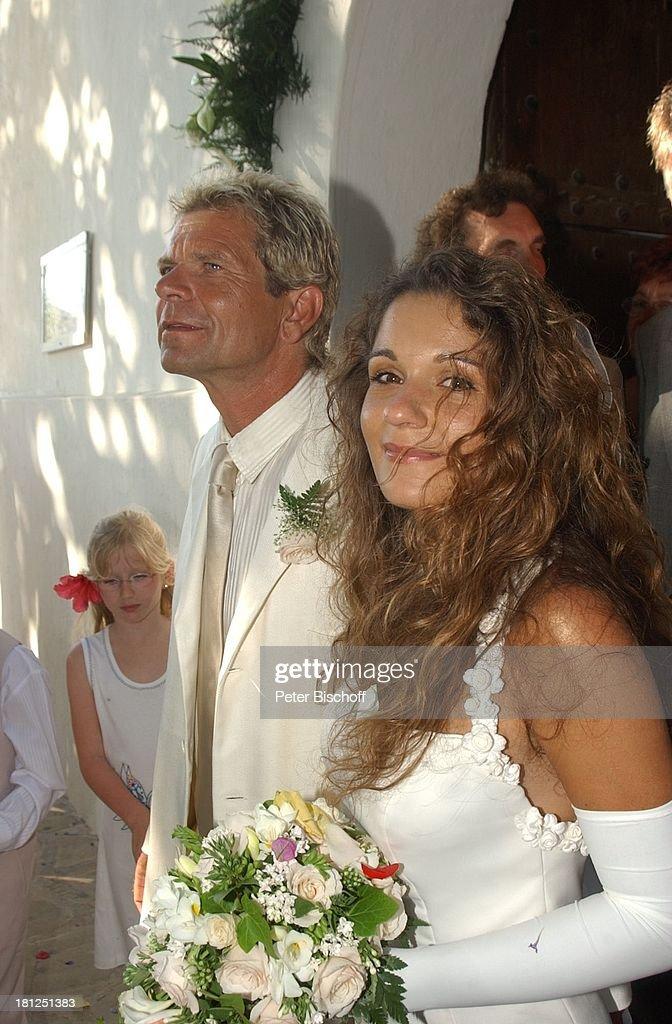 Bräutigam Matthias Reim (Schlagersänger), Braut Sarah, Hochzeit ...