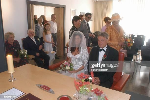 Bräutigam Rüdiger Joswig Braut Claudia Wenzel Schwiegermutter Nelly Wenzel Schwiegervater Manfred Wenzel Gäste ua trauzeugin Ingrid Alexander...