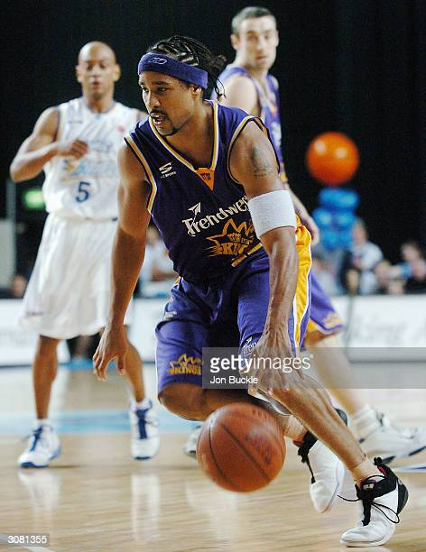 Bruton of the Kings in action during the NBL match between Sydney Kings and Brisbane Bullets at Sydney Entertainment Centre March 13 2004 in Sydney...