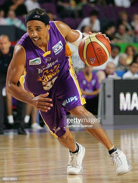 Bruton of the Kings in action during the round nine NBL match between the Sydney Kings and the West Sydney Razorbacks at the Sydney Entertainment...