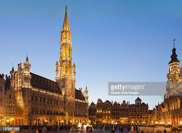 bruxelles, the grand palace. - グランプラス ストックフォトと画像