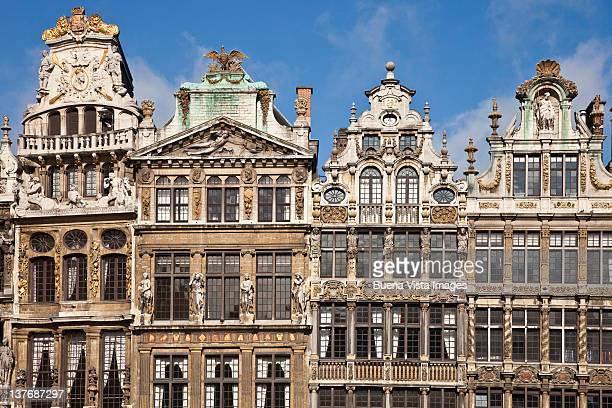 bruxelles, the grand palace. - région de bruxelles capitale photos et images de collection