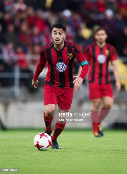 Brwa Nouri of Oestersunds FK during the UEFA Europa League Qualifying PlayOffs round second leg match between Oestersunds FK and PAOK Saloniki at...