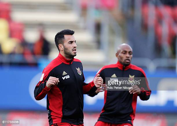 Brwa Nouri of Ostersunds FK ahead of the Allsvenskan match between Ostersunds FK and Falkenbergs FF at Jamtkraft Arena on October 1 2016 in Ostersund...