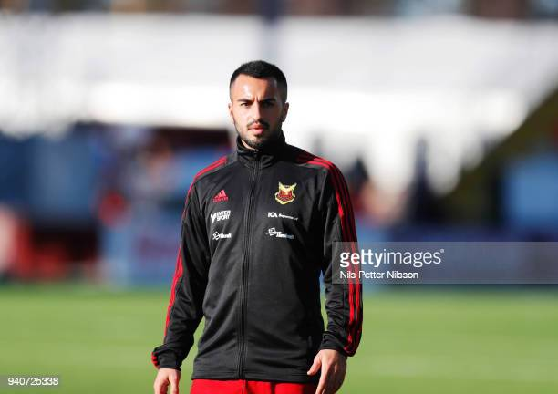 Brwa Nouri of Ostersunds FK ahead of the Allsvenskan match between Ostersunds FK and Djurgardens IF at Jamtkraft Arena on april 1 2018 in Ostersund...